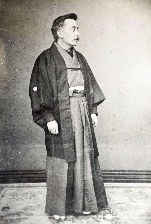Лафкадио Хирн, он же — японский подданный Коидзуми Якумо.