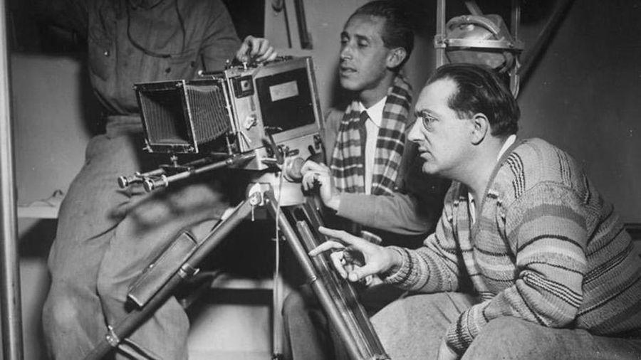 Немецкий режиссер Фриц Ланг. В 1934 году он уехал в США и вернулся в Германию уже после войны