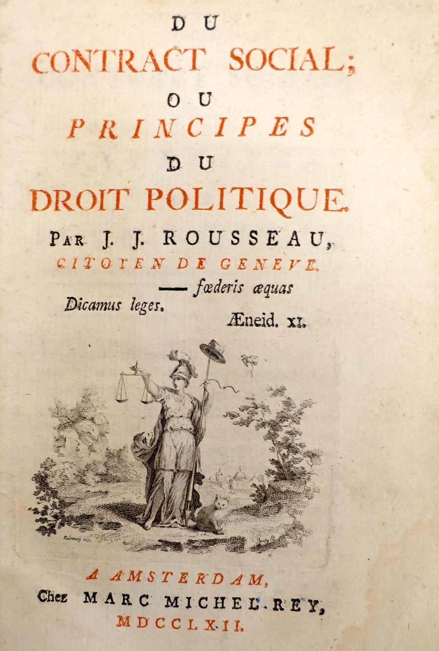 Впервые термин «гражданская религия» был упомянут Жан-Жаком Руссо в труде «Об общественном договоре»