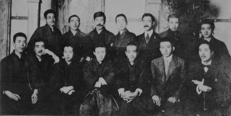 Коллективный портрет членов литературного объединения «Сиракаба»
