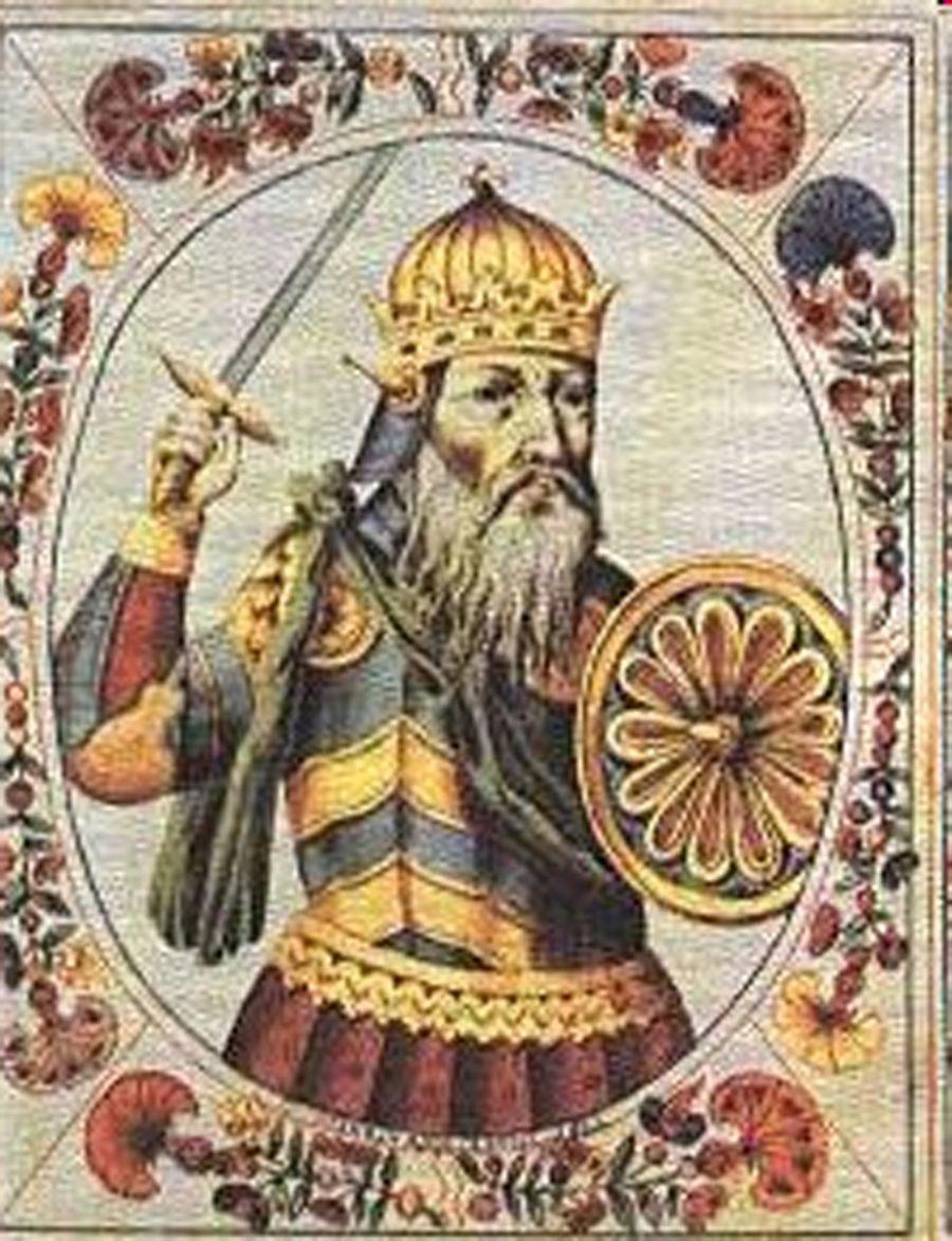Князь Руси Святослав Игоревич.