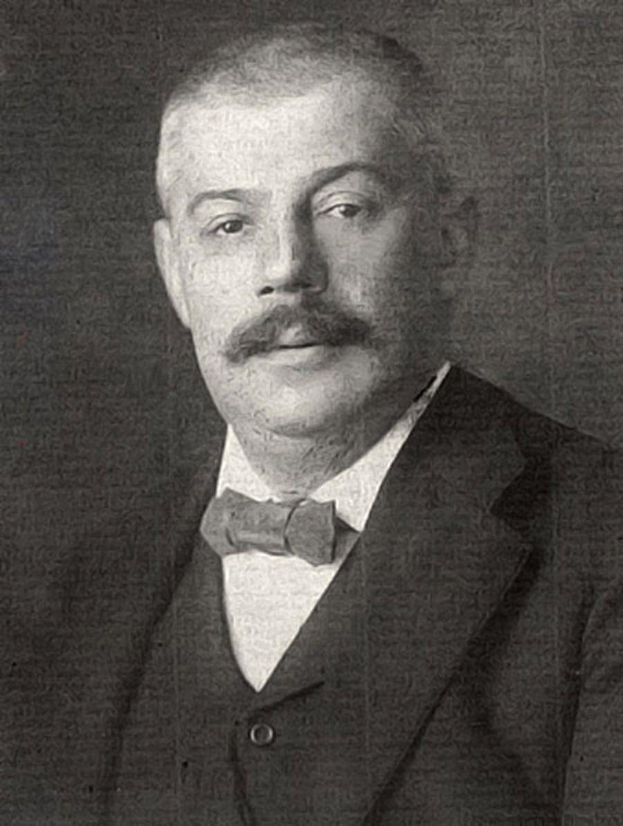 Отец Франца, Герман Кафка, 1910 г.